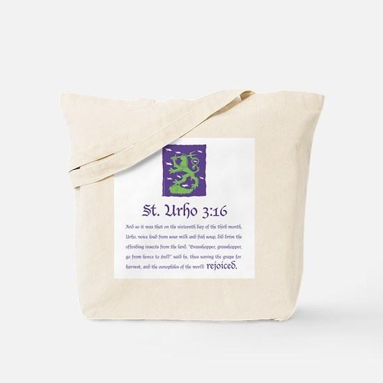 St. Urho 3:16 Tote Bag