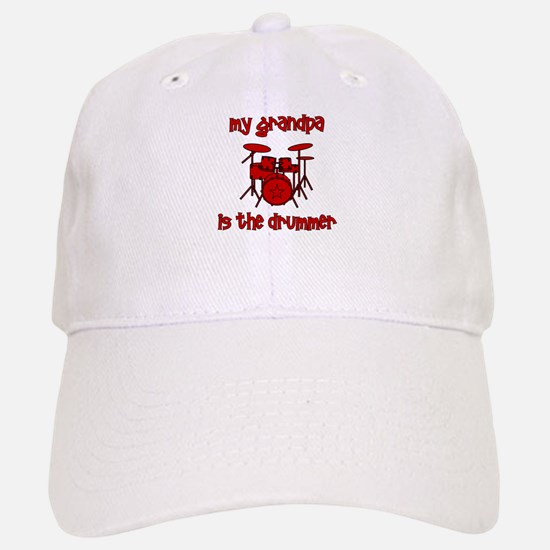 My Grandpa is the Drummer Baseball Baseball Cap