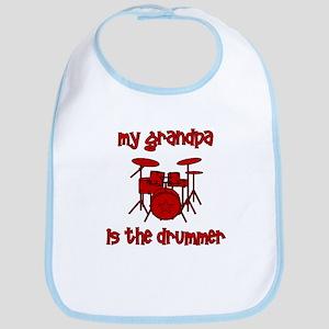 My Grandpa is the Drummer Bib