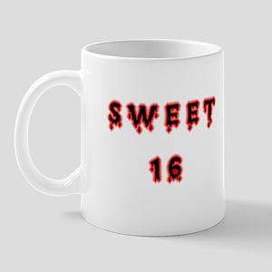 goth sweet 16 Mug