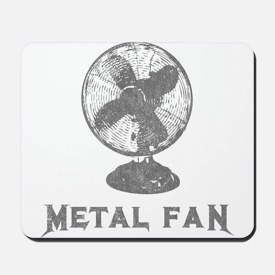 Metal Fan Mousepad