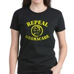 Repeal Obamacare Women's Dark T-Shirt