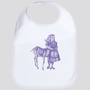 Alice with Fawn Lavender Bib