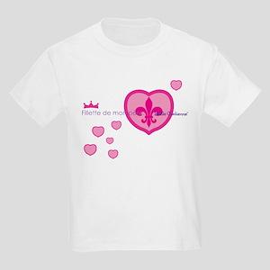 Belle Cadienne Daddy's Little Girl Light T-Shirt