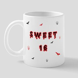 gothic sweet 16  Mug