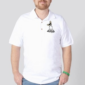 Rat Terrier Sit Pretty Golf Shirt