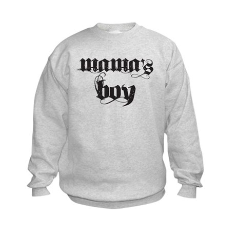 Mama's Boy Kids Sweatshirt