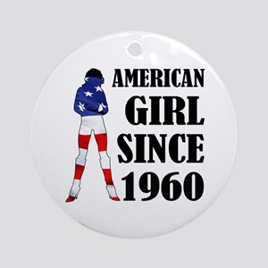 American Girl Since 1960 Ornament (Round)