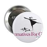 "Alternatives For Girls 2.25"" Button"