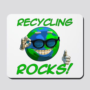 Recycling Rocks! Mousepad