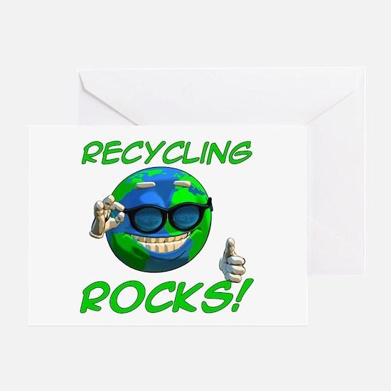 Recycling Rocks! Greeting Card