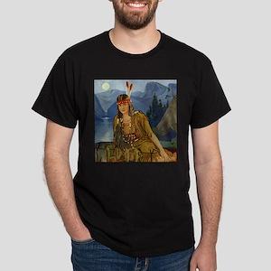 Indian Maiden Dark T-Shirt