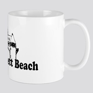 Narragansett RI - Lighthouse Design Mug