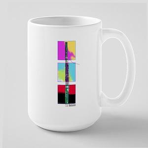 Colorful Bassoon Large Mug