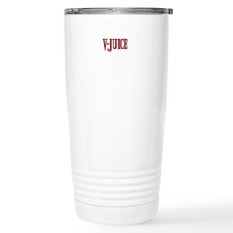 V Juice Stainless Steel Travel Mug