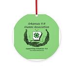 Arkansas 4-H Alumni Ornament (Round)