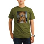 Make it Stop 5 Organic Men's T-Shirt (dark)