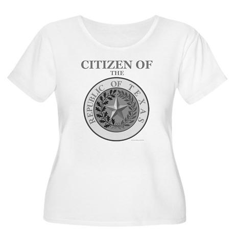 Texas Citizen Women's Plus Size Scoop Neck T-Shirt