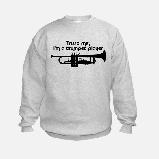 Trumpet Player Sweatshirt
