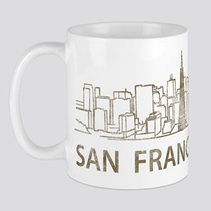 Vintage San Francisco Mug