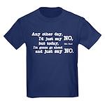 Just Say No Kids Dark T-Shirt