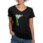 """Terrible"" Tim Women's V-Neck Dark T-Shirt"