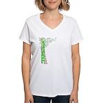 """Terrible"" Tim Women's V-Neck T-Shirt"