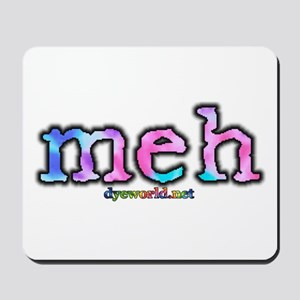 Cotton Candy Tie Dye meh Mousepad
