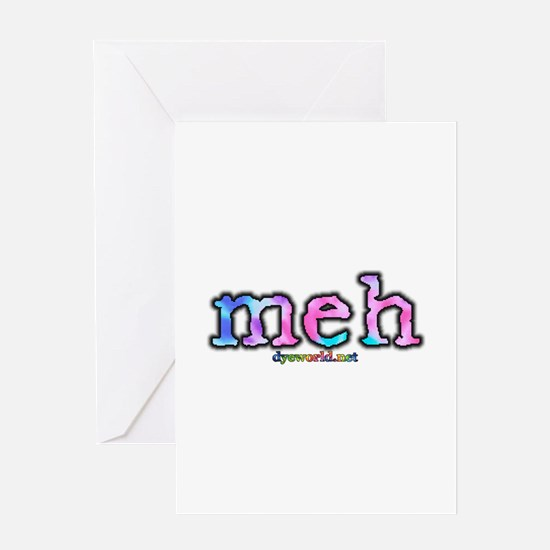 Cotton Candy Tie Dye meh Greeting Card