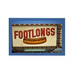 Footlongs Rectangle Magnet