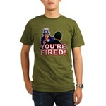 You're Fired! Organic Men's T-Shirt (dark)