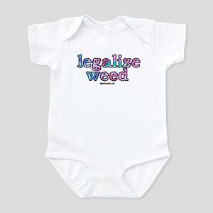 Legalize Weed Infant Bodysuit