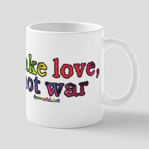 Make Love, Not War Mug