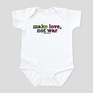 Make Love, Not War Infant Bodysuit