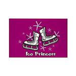 Ice Princess Rectangle Magnet