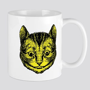 Cheshire Cat Yellow Mug