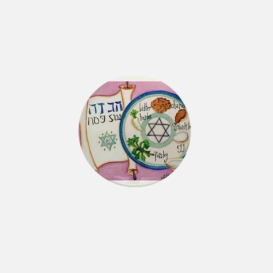 Passover Plate Mini Button