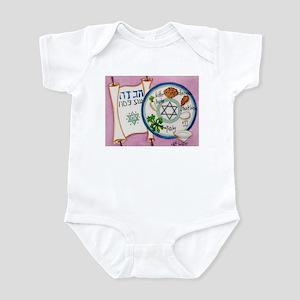 Passover Plate Infant Bodysuit