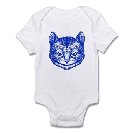 Cheshire Cat Blue Infant Bodysuit