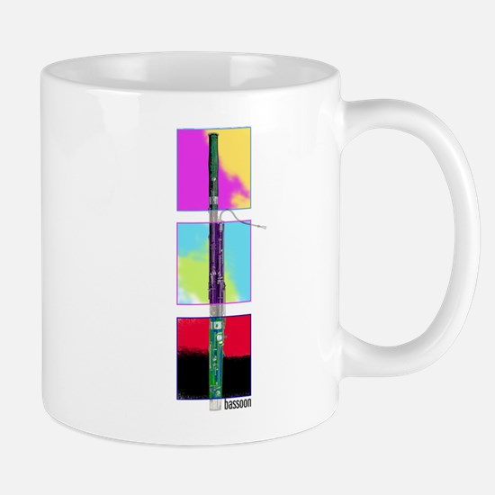 Colorful Bassoon Mug