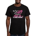 Not Just a SAHM Men's Fitted T-Shirt (dark)