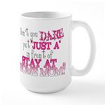 Not Just a SAHM Large Mug