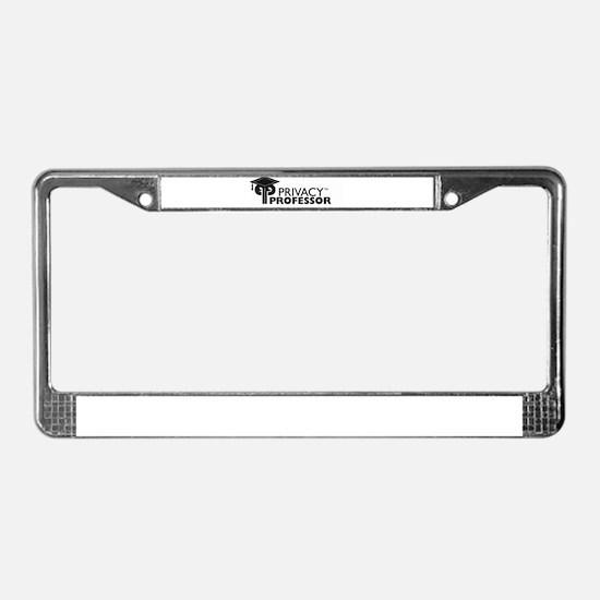 Unique Professor License Plate Frame