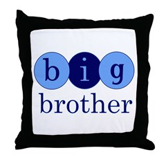Big Brother (Circles) Throw Pillow