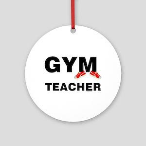 Gym Teacher Sneakers Ornament (Round)