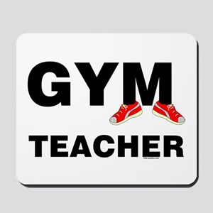 Gym Teacher Sneakers Mousepad