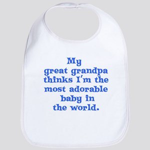 Great grandpa loves me Bib