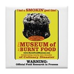 Burnt Food Museum Tile Coaster