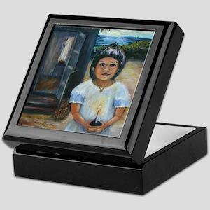 Easter Girl Keepsake Box