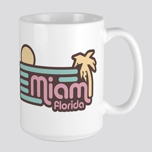Miami Florida Large Mug